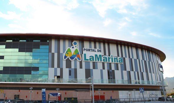 Centro Comercial Portal de la Marina en Ondara