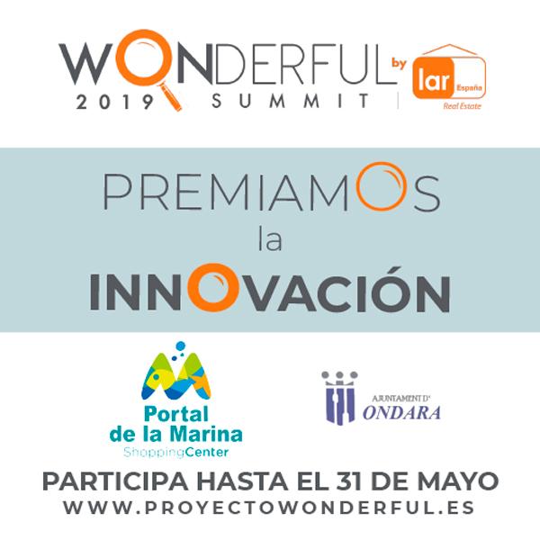 """Portal de la Marina apoya al emprendimiento en nuestra región colaborando en el Concurso de Innovación """"Wonderful"""""""