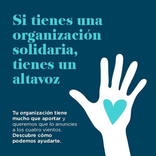 La solidaridad merece esto y mucho más