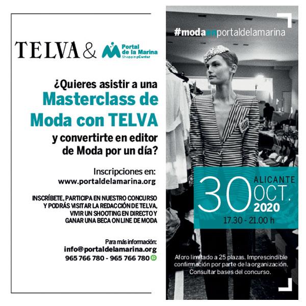 Master Class de MODA con TELVA