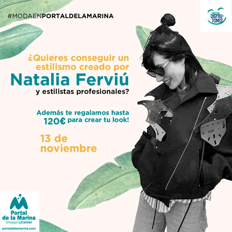 ¿Quieres conseguir un estilismo creado por Natalia Ferviú?