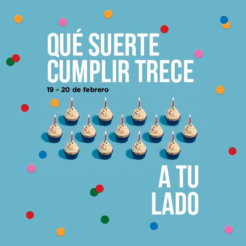 Cumpleaños feliz para nosotros y aún más para ti