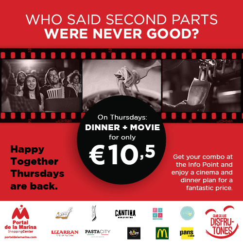 We're looking for actors and actresses for the film of the year – cinema and dinner or lunch for €10,50!