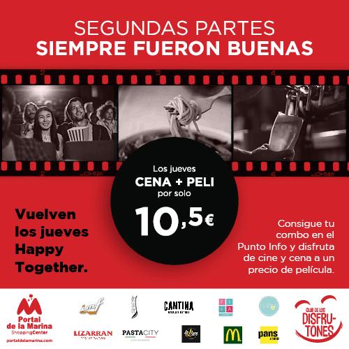 Se buscan actores y actrices para la película del año ¡Cine y cena o comida por 10,5€!